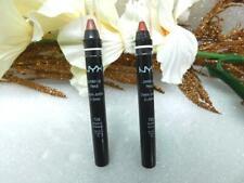2 Lot NYX jumbo lip pencil 729 chesnut/705 bronze