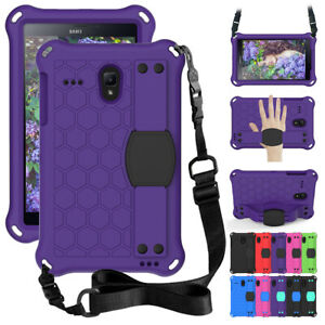 "For Samsung Galaxy Tab A E 8"" Inch Tablet Case Kids Shockproof Foam Strap Cover"