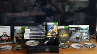 XBOX 360 Black 4GB Console bundle + 15 Great Games FAST FREE POST
