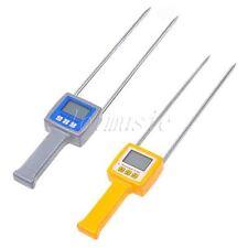 TK100W Moisture Fiber Tester 4 Digital LCD Grain Moisture Meter Tester TK100S