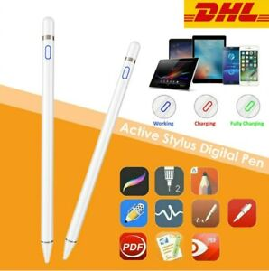 Digital Active Stylus Pen Pencil Eingabestift für IOS iPad Android Tablet Handy