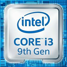 Intel 4-Core i3-9100 CPU 3.6GHz up to 4.2GHz 65W. Includes Intel cooling fan.