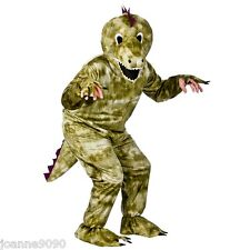 DELUXE DINOSAUR T-REX MASCOT PANTO FUN RUN STAG NIGHT ANIMAL FANCY DRESS COSTUME