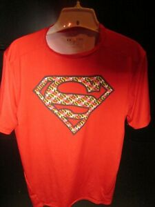 Superman Under Armour Mens XL Compression Shirt Maryland