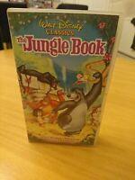 The Jungle Book Walt Disney Classics VHS Video Tape Film Cartoon
