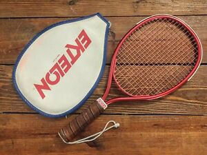 Vintage Ektelon Rogue Racquetball Racquet with cover Red