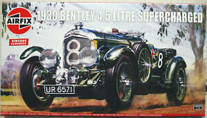 Airfix 20440 1930 Bentley 4,5 L Blower No. 8 Le Mans 1:12