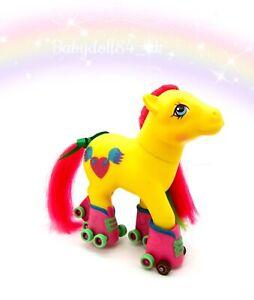 ⭐️ My Little Pony ⭐️ G1 Vintage Euro Rollerskates Jazzie Pretty!