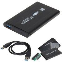 SSD Hard Drive Disk External USB 3.0 Cable 2.5 Inch SATA Storage Enclosure Box