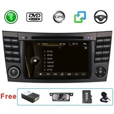 DAB Car Stereo Sat Nav GPS MAP BT For Mercedes Benz E/CLS/G Class W211 W219 W463