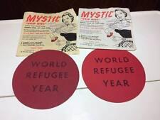 Vintage Mystic grip disk American advertising 2 packages