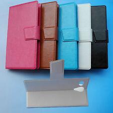 Para Wolder WIAM smartphone--PU leather Case Cover Funda Carcasa Piel Cuero