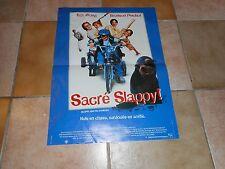 """Affiche de cinema  """"Sacré Slappy"""""""