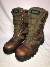 Wolverine Boots, Brown Leather Upper with Gore-Tex and Thinsulate Ulta Sz 10