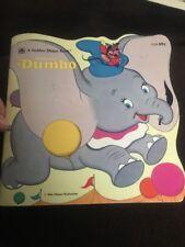 Walt Disney's Dumbo • A Golden Super Shape Book (1977, Paperback)