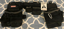 CRAFTSMAN Heavy Duty Carpenter Tool Bags With Suspenders NEW Framers Rig