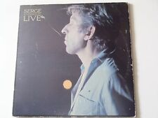 DOUBLE LP GAINSBOURG SERGE  LIVE 1985 PHILIPS 826 721-1