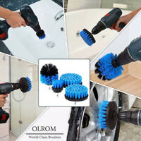 Tile Grout Power Scrubber Cleaning  Bristle Drill Brush Tub Cleaner Combo Tool