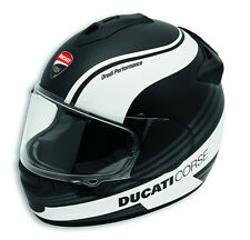 DUCATI Arai Chaser X Corse SBK 3 Helm Helmet schwarz weiß matt NEU !!