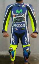 VALENTINO ROSSI 2017 to 2018 MOTOGP LEATHER SUIT MOVISTAR YAMAHA RACING SUIT