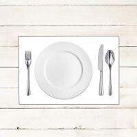 100x Tischset in Weiß aus Linclass® Airlaid 40 x 30 cm - Platzdeckchen