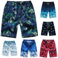 Casual Men Quick-Dry Beach Pants Boardshorts Surf Shorts Board Trunks Size M-4XL