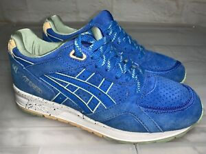 Womens ASICS Gel Lyte Speed Blue Sneakers US 6 #22366