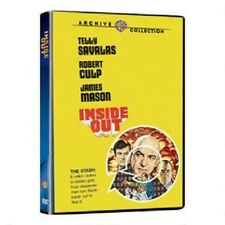 INSIDE OUT. Telly Savalas, Robert Culp (1975). UK compatible. New sealed DVD.