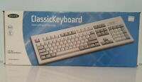 Vintage Belkin Classic Keyboard Classic Look New With Plastic! A1