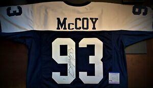Gerald McCoy Autographed Dallas Cowboys Jersey JSA COA