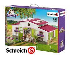 Schleich 42344 - Reiterhof mit Reiterin und Pferden - Horse Club NEU & OVP
