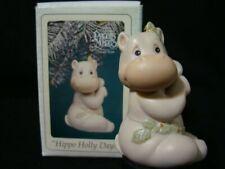 New ListingPrecious Moments Ornaments-Cute-Hippo Holly Da 00006000 ys-Limited Edition