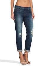 J Brand Aidan Midori Patch Boyfriend Skinny Bigtime Jeans; 25