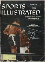 Floyd Patterson signed autographed Sports Illustrated magazine! Authentic!