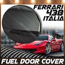 For 2010-2015 Ferrari 458 Italia Spider Carbon Fiber Gas Fuel Door Cover Overlay