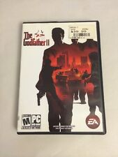 THE GODFATHER II GAME ACTION 3RD PERSON COMPUTER GAME USED MINOR SCRATCHES
