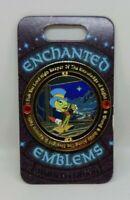 Jiminy Cricket Conscience Pinocchio Enchanted Emblems LE 3000 Disney Spinner Pin