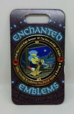 Jiminy Cricket Conscience Pinocchio Enchanted Emblems Le 3000 Disney Spinner Pin