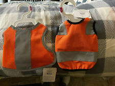 Top Paw Orange Reflective High Visibility Dog Vest for Dogs Various Sizes