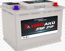 Yuasa Car Battery YBX7027 EFB Stop Start 560CCA 60Ah T1 Terminal
