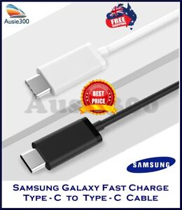 Samsung Type-C to Type-C PD QC Super Fast Charger Cable Note10/ S10/ S20/ Note20