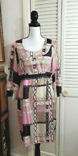 SKIRTIN AROUND bell sleeve Sheath dress 100% Silk Sz 6 - unlined