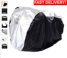 For 2 Bike Cycle Bicycle Rain Waterproof Cover All Weather Dust Resistant UV UK