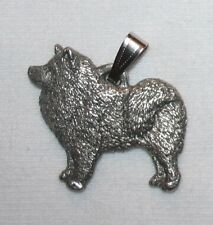 Samoyed Dog Harris Fine Pewter Pendant Usa Made