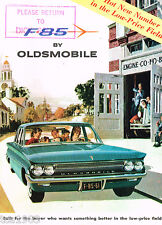 1961 OLDSMOBILE F-85 Brochure / Catalog: SEDAN,STATION WAGON,F85, Rockette