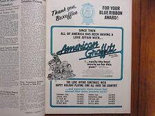 Dec-1973 Boxoffice Mag(AMERICAN  GRAFFITI/CANDY CLARK/OMAR SHARIFF/JULIE ANDREWS