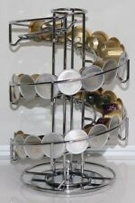 Wiltshire Rotating Universal Coffee Capsule Holder Trendy Stainless Steel Finish