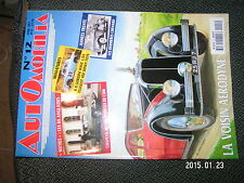 Automobilia n°12 Voisin Aerodyne DS Anglaises Chenard GP de Paris 1951 Salmson