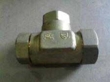 """Wardflex 20MX20MX15M.WFT  3/4"""" x 3/4"""" x 1/2"""" Brass Male Mech Gas Tee"""