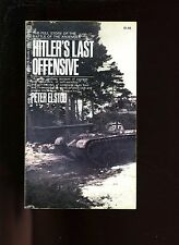 HITLER'S LAST OFFENSIVE ( Ardennes campaign) Peter Elstob 1st  US SB VG